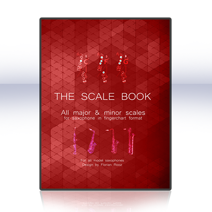 Scale-Book-guide for saxophone - learn to play the saxophone - how to play the saxophone