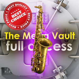 The Saxophone vault - Highest value saxophone lesson pack