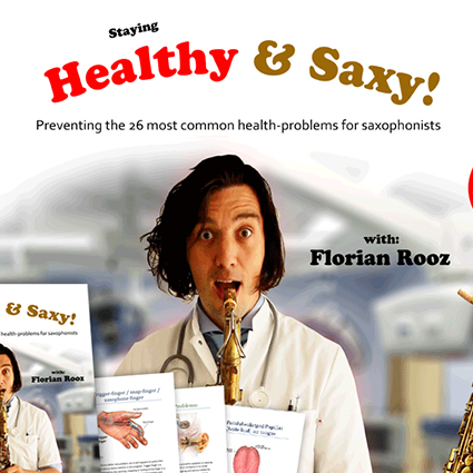 Staying healthy and saxy